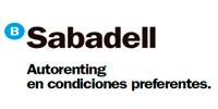Sabadell autorenting en condiciones preferentes
