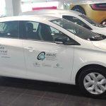 Vehículo eléctrico para la asociación