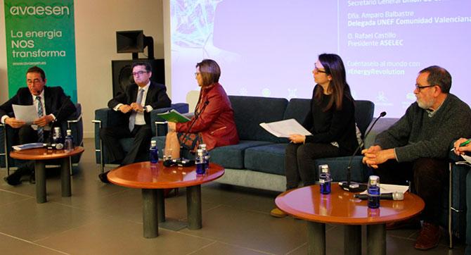 Participación de Aselec en el congreso Energy Revolution de Avaesen