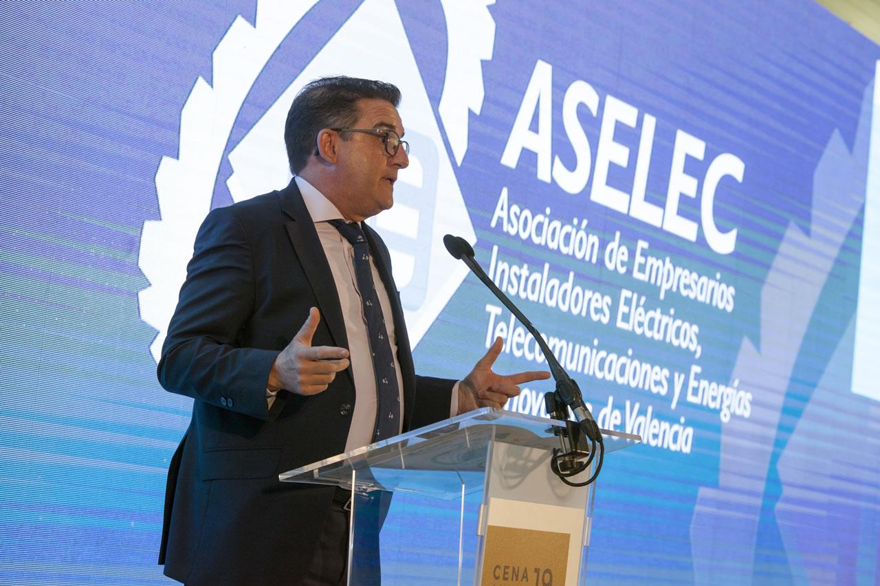 President d'ASELEC, Rafael Castillo Devis