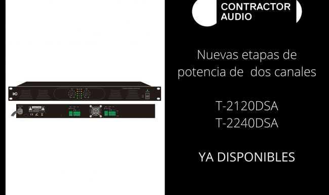 Nuevas etapas disponibles Contractor Audio