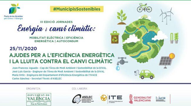 Tercera jornada de la III edición de las jornadas Energia i canvi climàtic