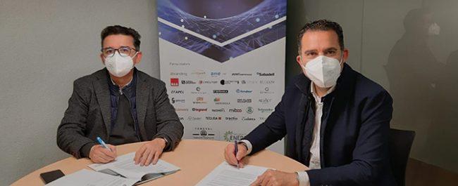 ASELEC firma un convenio de colaboración con la agencia de comunicación äbranding